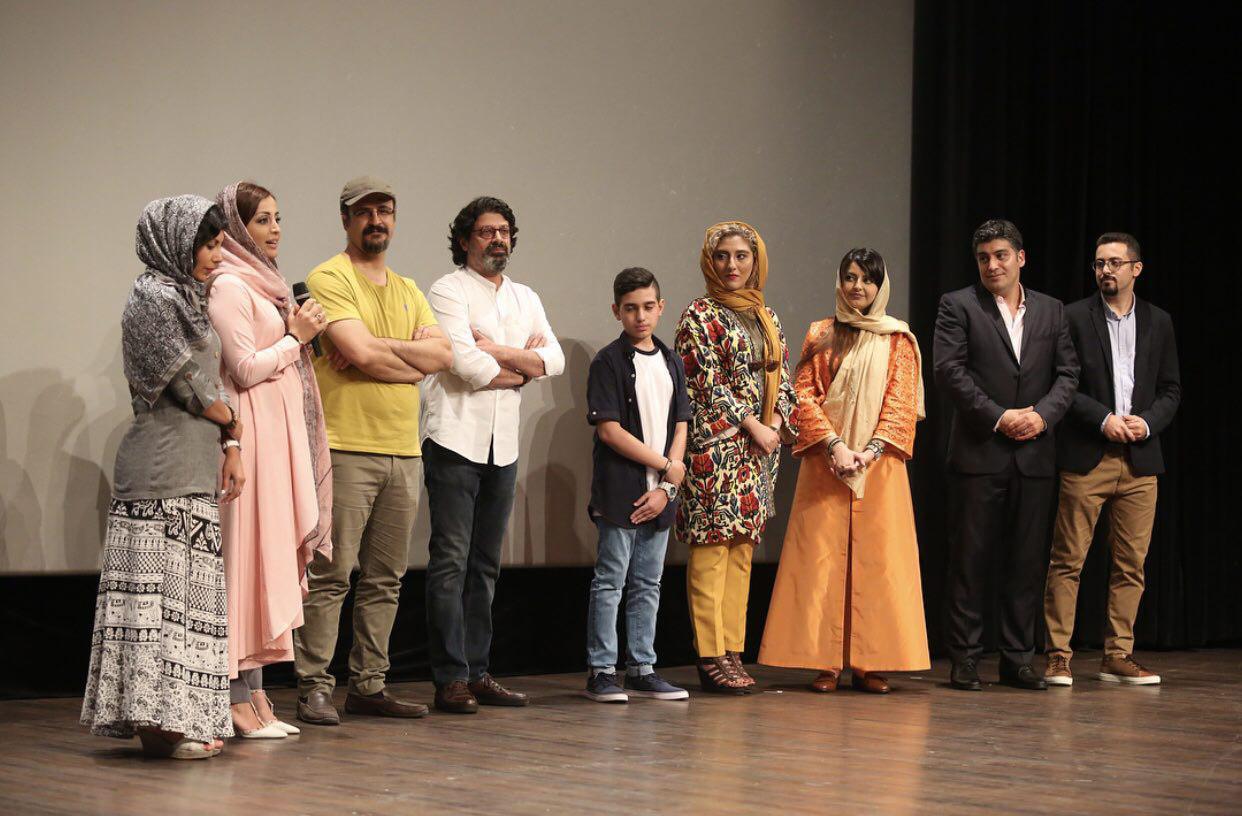 مراسم اکران خصوصی «شیواتیر» برگزار شد هیلا صدیقی