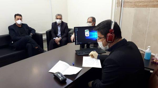 حضور رئیس سازمان جهاد کشاورزی استان کرمانشاه در مرکز پاسخگویی سامد