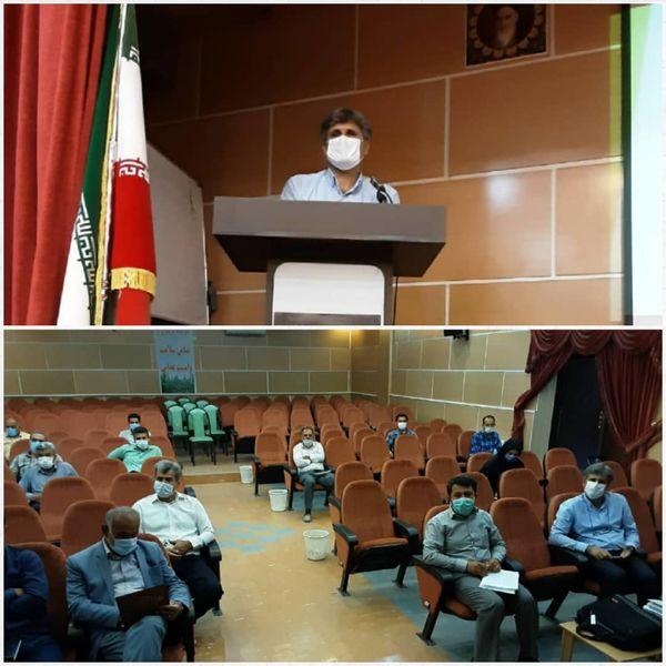 جلسه هماهنگی و برنامهریزی خرید بذر گندم و جو در شهرستان آبیک برگزار شد