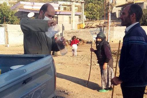 واکسیناسیون نیوکاسل طیور بومی در شهرستان خداآفرین