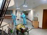 ضدعفونی اماکن عمومی شهر ایلام جهت جلوگیری از شیوع کرونا ویروس
