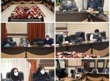 جلسه هماهنگی و پیگیری طرح توسعه سامانههای نوین آبیاری استان قزوین