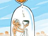نرخ گرسنگی در جهان افزایش یافت -کارتون فیروزه مظفری