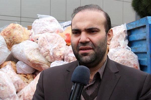 کشف، ضبط و معدومسازی بیش از 3.5 تن فرآورده خام دامی غیربهداشتی در تبریز