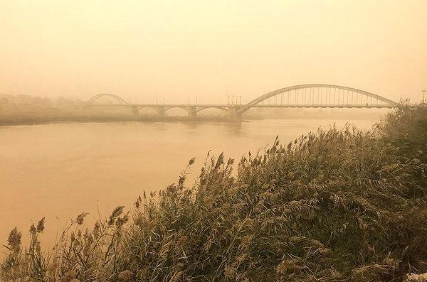 گرد و غبار خوزستان منشاء داخلی هم دارد