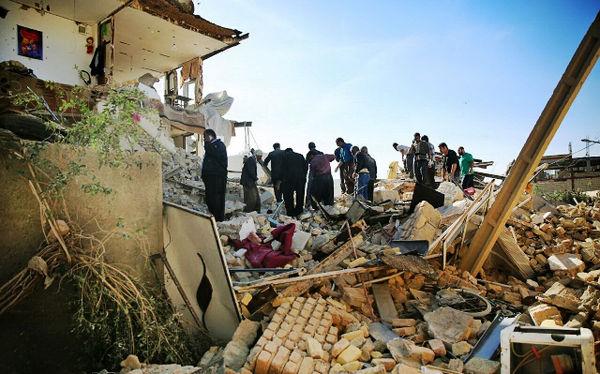 زلزله خجالتزده کشاورزان سرپل ذهاب شد
