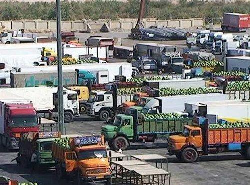 افزایش صادرات محصولات کشاورزی از مرز مهران