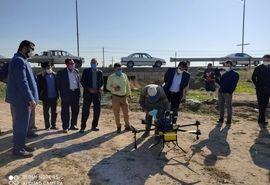 برگزاری کارگاه آموزشی کاربرد پهبادها در کشاورزی در شهرستان مهران