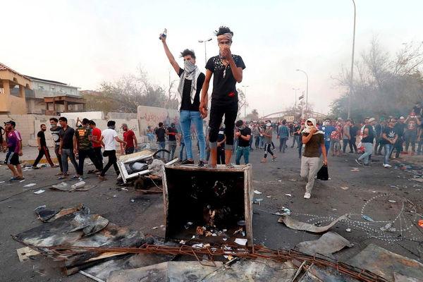 درگیریها در شهر بصره عراق
