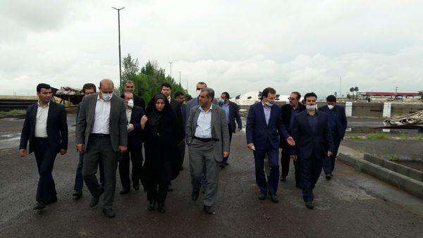 استاندار قزوین از انبارشرکت پشتیبانی امور دام استان قزوین بازدید کرد