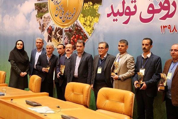 انتخاب ۸ تولید کننده برتر کشاورزی ملی از استان گیلان