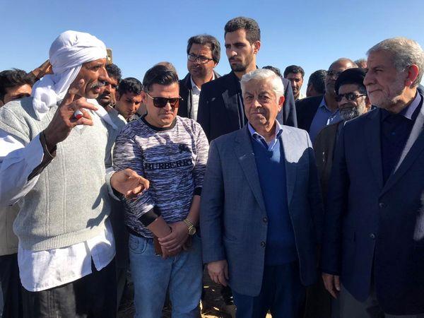 بهرهبرداری از پروژه 46 هزار هکتاری آبیاری دشت سیستان برای کشت بهاره