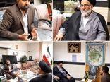 مدیر جهاد کشاورزی ورامین با امام جمعه شهرستان دیدار کرد
