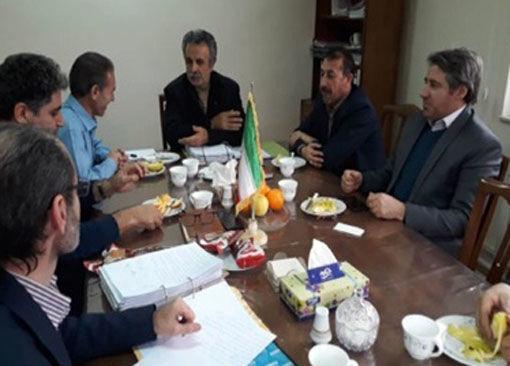 برگزاری جلسه کارگروه رفع تداخلات اراضی شهرستان اسکو
