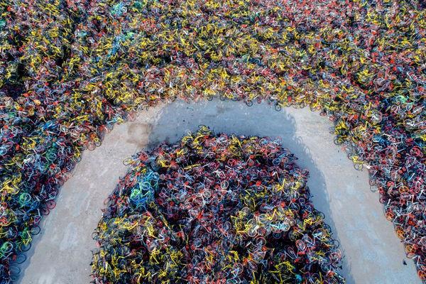 دوچرخههای اشتراکی در چین
