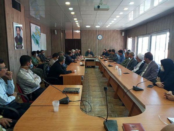 مراسم تودیع و معارفه مدیر جهادکشاورزی شهرستان تربت جام
