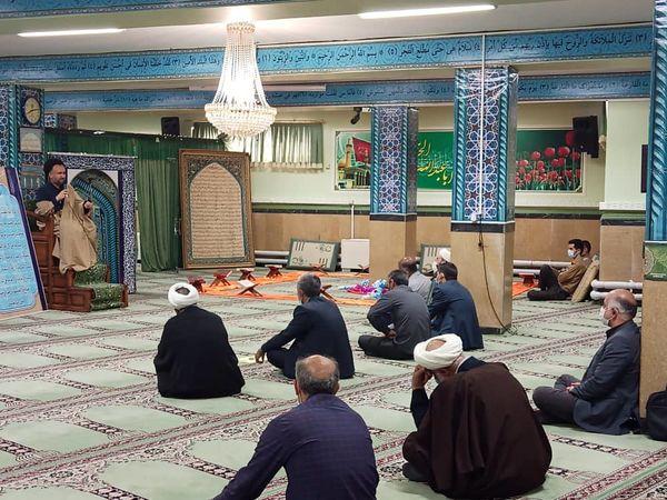 مراسم سالگرد ارتحال ملکوتی امام راحل (ره) در سازمان جهاد کشاورزی استان قزوین