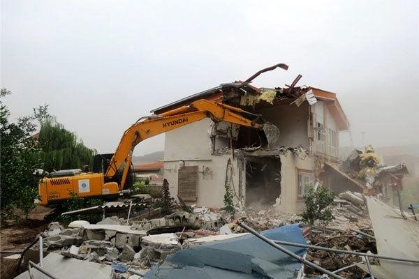 قلعوقمع ساختوسازهای غیرمجاز در شیراز