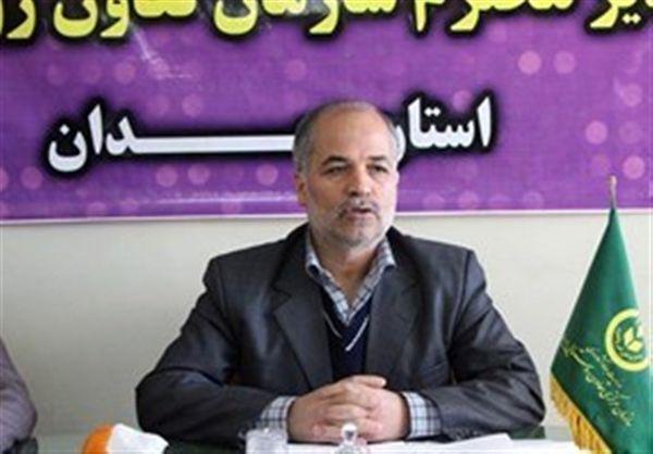 بهره برداری از مجتمع بزرگ انباری تعاون روستایی استان همدان