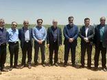سفرسرپرست معاونت  امور زراعت در وزارت جهاد کشاورزی به خرامه