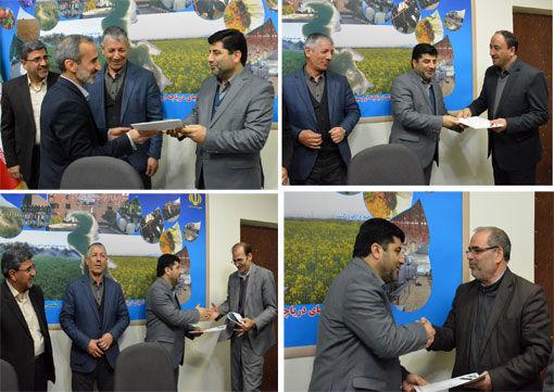 اعضای جدید هیات بدوی رسیدگی به تخلفات اداری سازمان جهادکشاورزی استان آذربایجان شرقی معرفی شدند