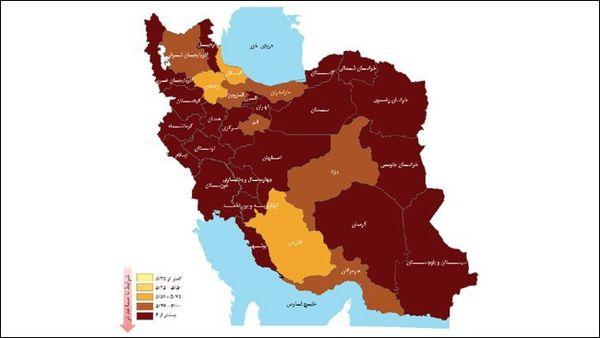 شاخص ملی کسب و کار در وضعیت قرمز