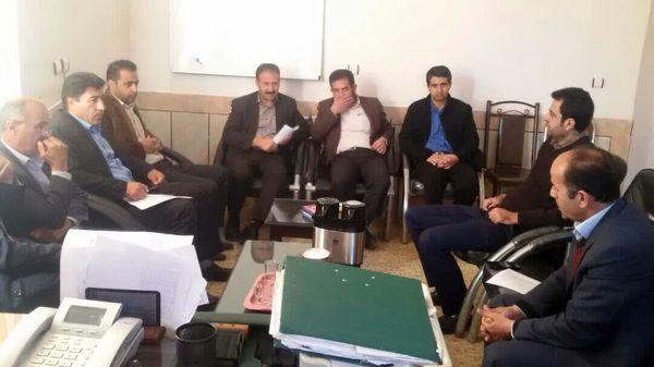 برگزاری جلسه ستاد زراعت شهرستان خانمیرزا