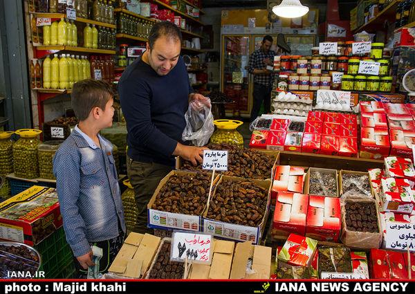 عرضه مستقیم و توزیع ۱۵۰۰ تن خرما در ماه رمضان
