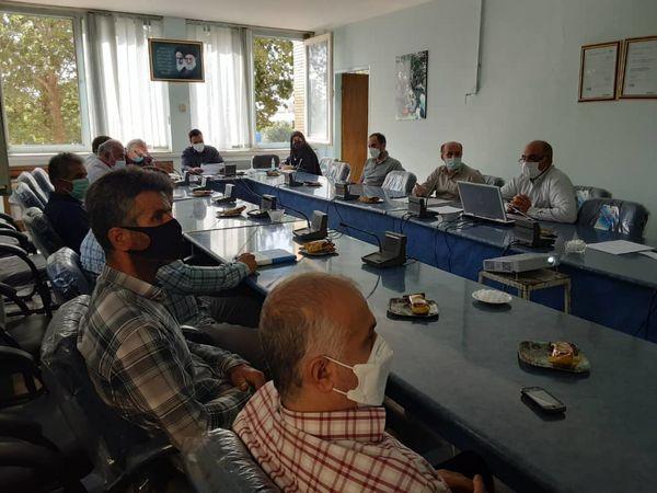 جلسه کمیته فنی بذر شهرستان قزوین برگزار شد
