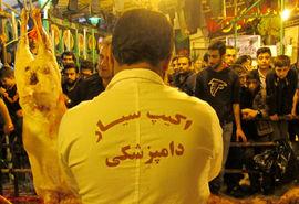 اعزام ۲هزار دامپزشک برای کنترل سلامت نذورات حسینی