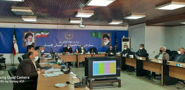 برگزاری ششمین جلسه ستاد گیاهپزشکی و پایش محصولات زراعی و باغی استان گلستان