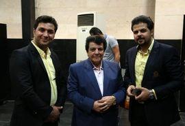 عباس قادری و فریدون جیرانی در افتتاحیه نمایش «دیگری»