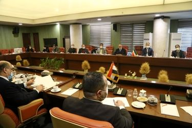 دیدار وزیر جهاد کشاورزی جمهوری اسلامی ایران با وزیر تجارت عراق