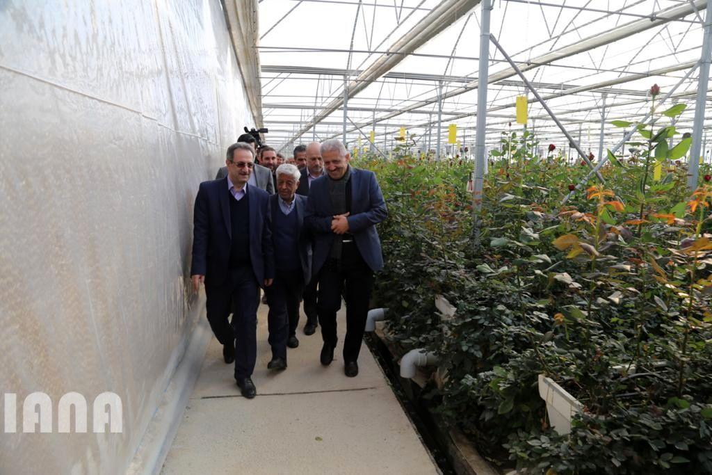 بازدید و بهره برداری از پروژه های بخش کشاورزی استان تهران با حضور سرپرست وزارت جهاد کشاورزی