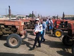 ۵۷ تراکتور فاقد پلاک در شهرستان ورامین پلاک گذاری شد