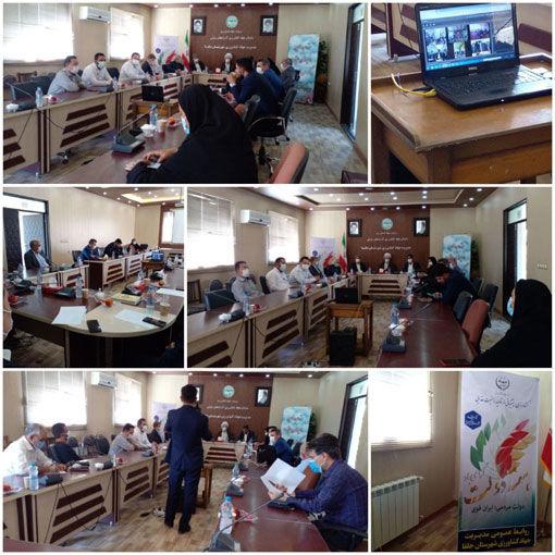 افتتاح کارخانه تولید خوراک آبزیان در شهرستان جلفا