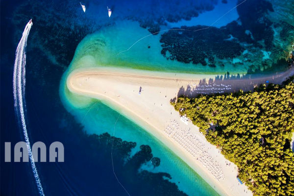 جزیرهای در کرواسی