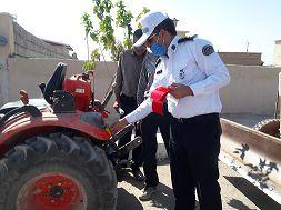 عدم تخصیص سوخت به تراکتورهای فاقد پلاک از ابتدای مهر امسال