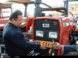 2800 دستگاه ماشین آلات کشاورزی در استان تهران پلاک گذاری شد
