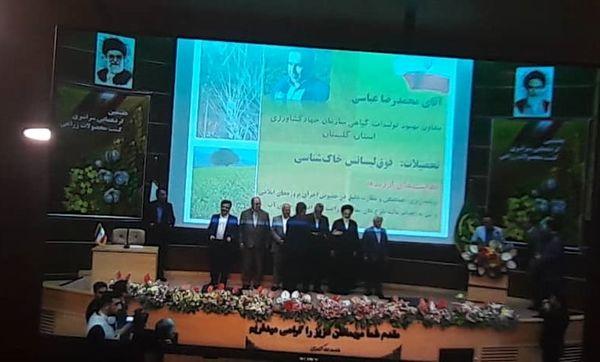 از برترین های کشاورزی در استان خوزستان تقدیر شد