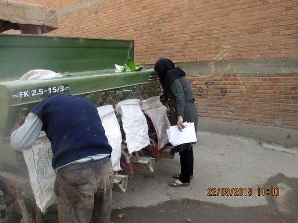 آغاز کشت کلزا در شهرستان بهارستان