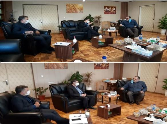 برگزاری جلسه بررسی و رفع مشکلات شرکت سهامی زراعی بهکده رضوی