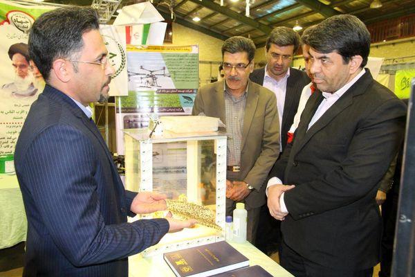 حضور فعال سازمان جهاد کشاورزی استان یزد در نمایشگاه ایمنی در بحران