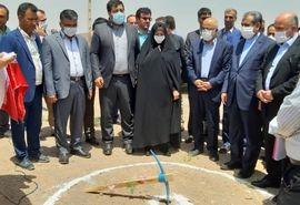 عملیات گاز رسانی به  شهرک گلخانهای نودهک در شهرستان تاکستان آغاز شد