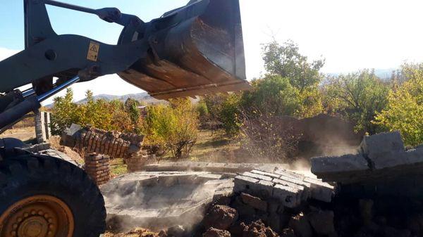 آزاد سازی 17000 متر مربع از اراضی کشاورزی  شهرستان بوئین زهرا