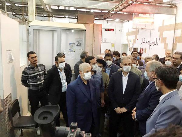 بازدید وزیر جهاد کشاورزی از کشتارگاه صنعتی خوشه طلایی سیستان