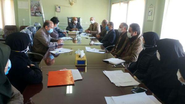 حضور تیم ارزیابی عملکرد در شهرستان فارسان
