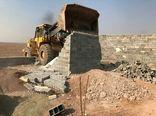 قلع و قمع ۳۷ مورد ساخت و ساز غیر مجاز در اراضی کشاورزی شهرستان قزوین