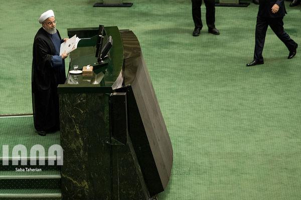نظر سیاسیون در توئیتر درباره سخنان روحانی