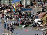 ۸۰۰ کشته در زلزله و سونامی اندونزی